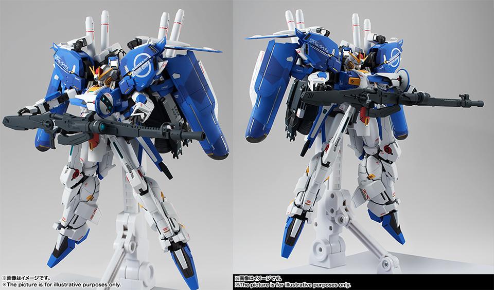 Bandai Metal Robot Spirits MSA-0011 Ext-S Gundam