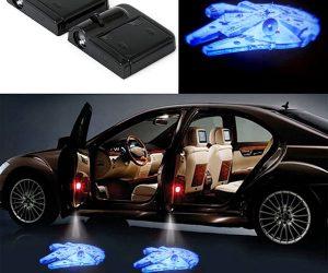 Millennium Falcon LED Car Door Projectors