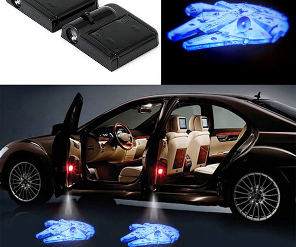 Millennium Falcon LED Car Door Projectors
