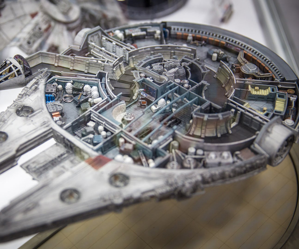 Quantum Mechanix 2016 Spaceship Scale Models