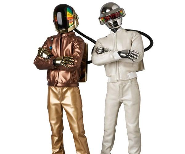 Medicom RAH Daft Punk Discovery 2.0 Action Figures