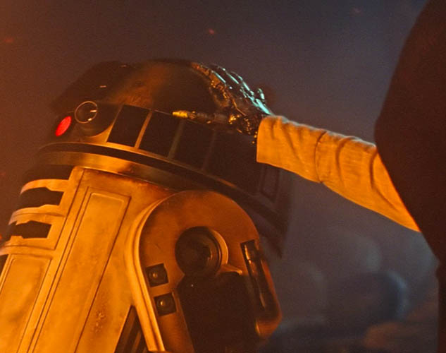 What Was Cut from Rey's Vision in The Force Awakens?