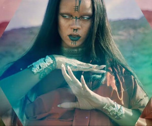 Starship Enterprise Pops up in Rihanna's Trippy Music Video