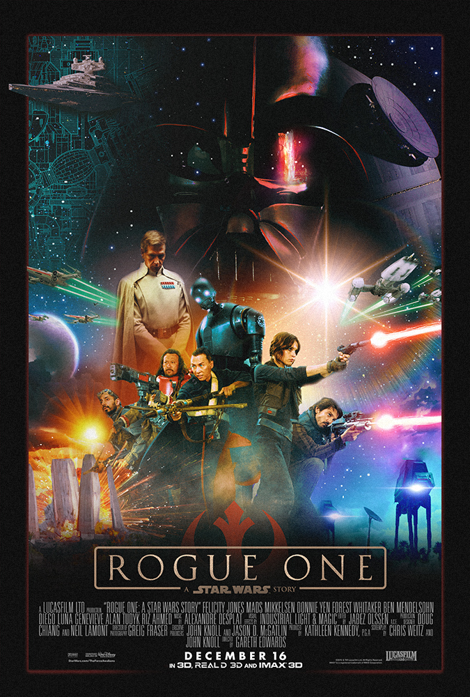 Cool Fan-Made Poster for Rogue One: A Star Wars Story