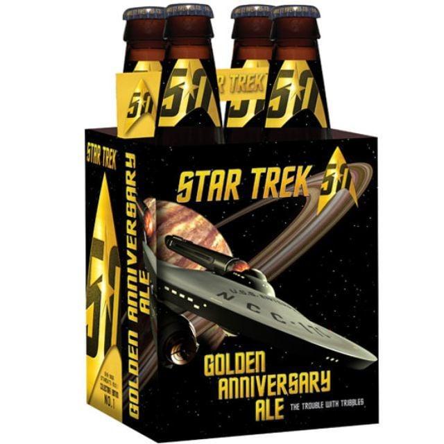 Official Star Trek 50th Anniversary Beer