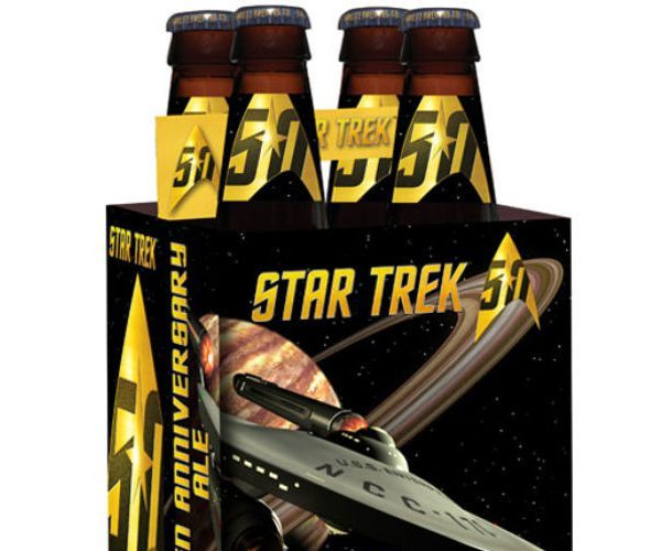 Official Star Trek 50th Anniversary Beer