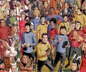 Star Trek 50th Anniversary 3000pc Puzzle