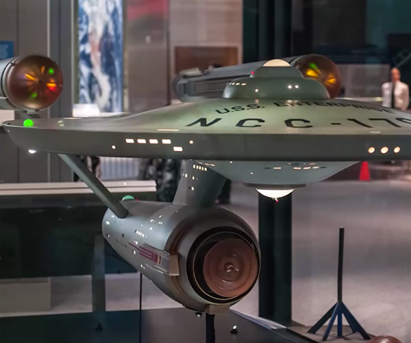 Star Trek Enterprise 1964 Model Restored