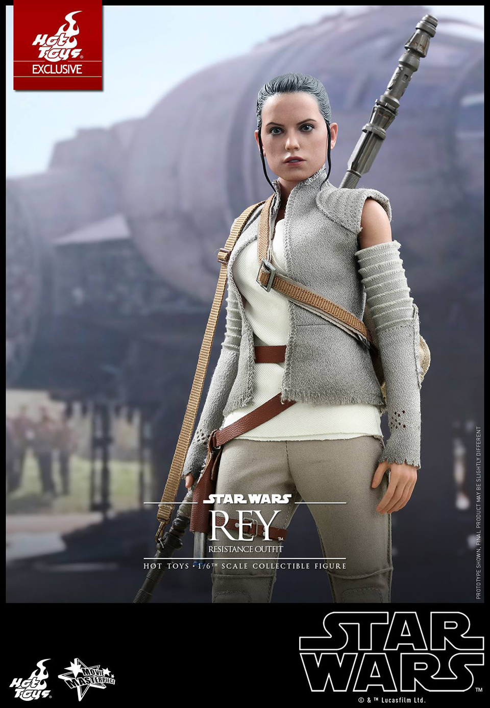 Rey Star Wars Toys : Hot toys star wars vii rey resistance scale action