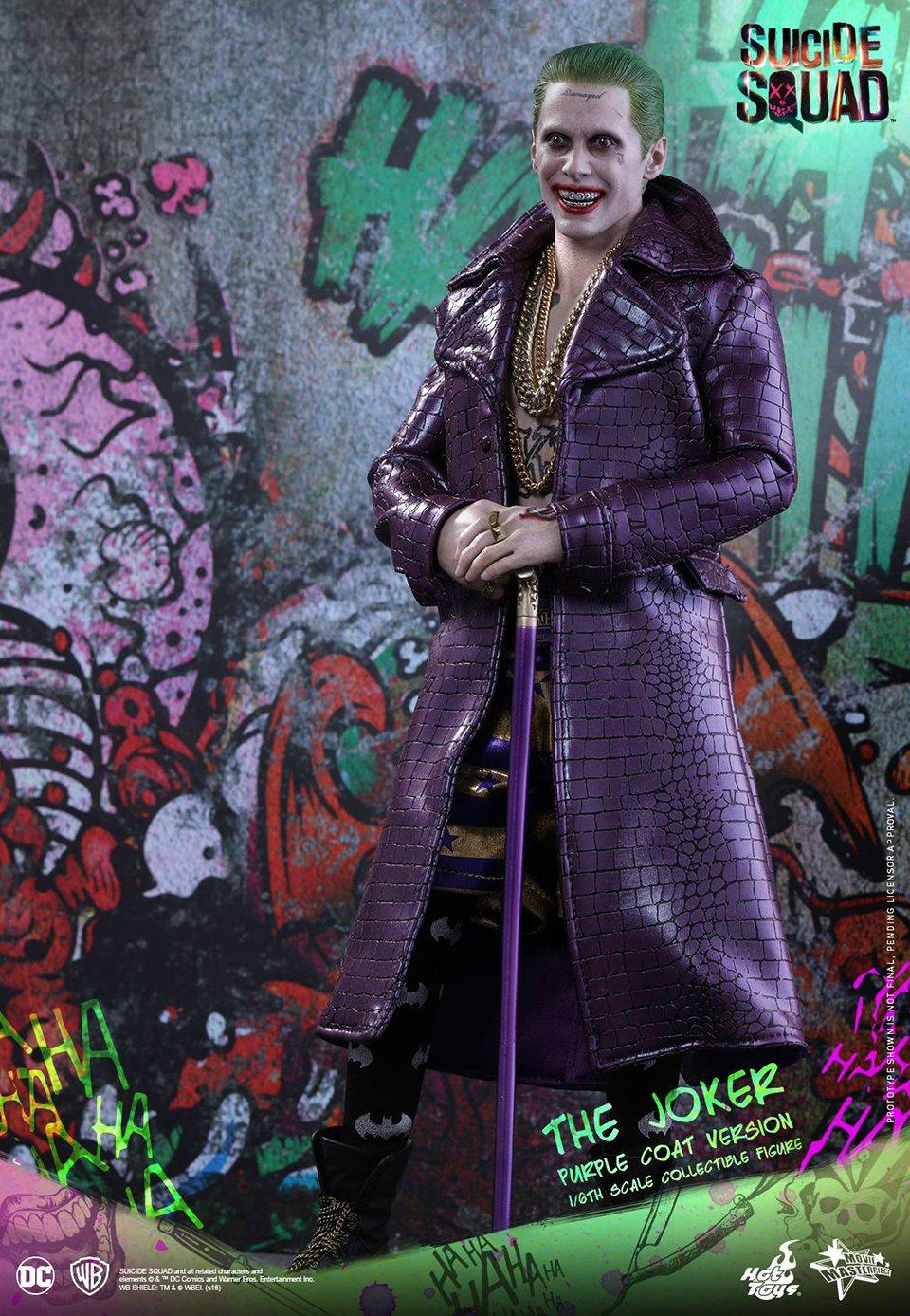 hot toys deadshot harley quinn amp purple coat joker 16th
