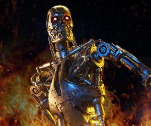 Sideshow Terminator T-800 Endoskeleton Maquette