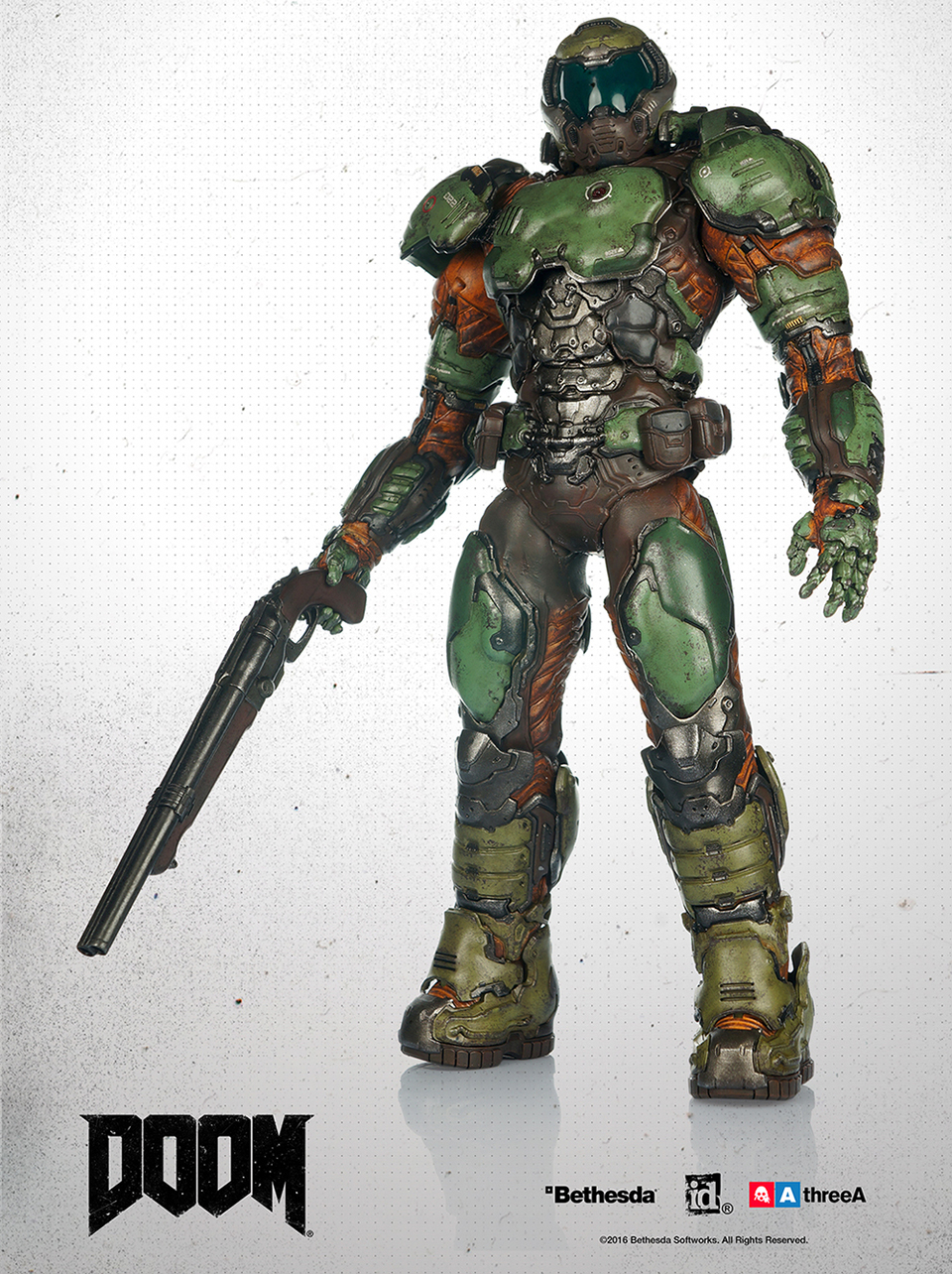 3A Toys Doom Marine 1/6th Scale Action Figure