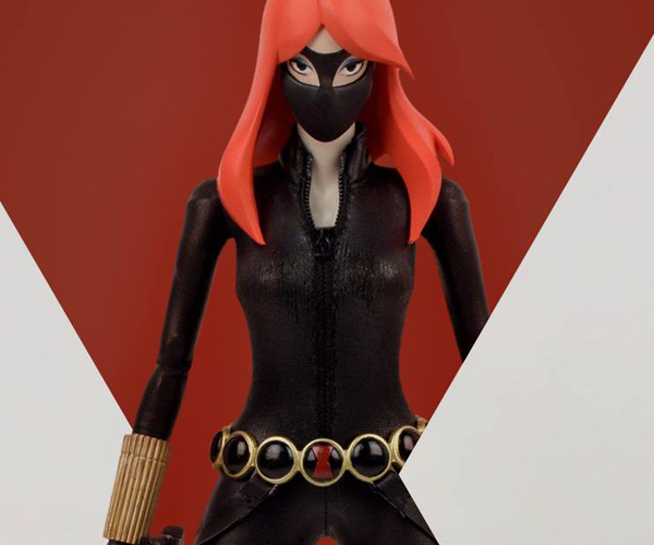 3A Toys Black Widow 1/6 Scale Action Figure