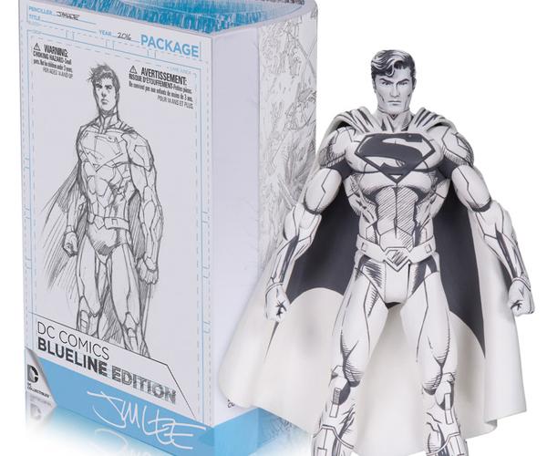 DC Comics BlueLine Superman Action Figure