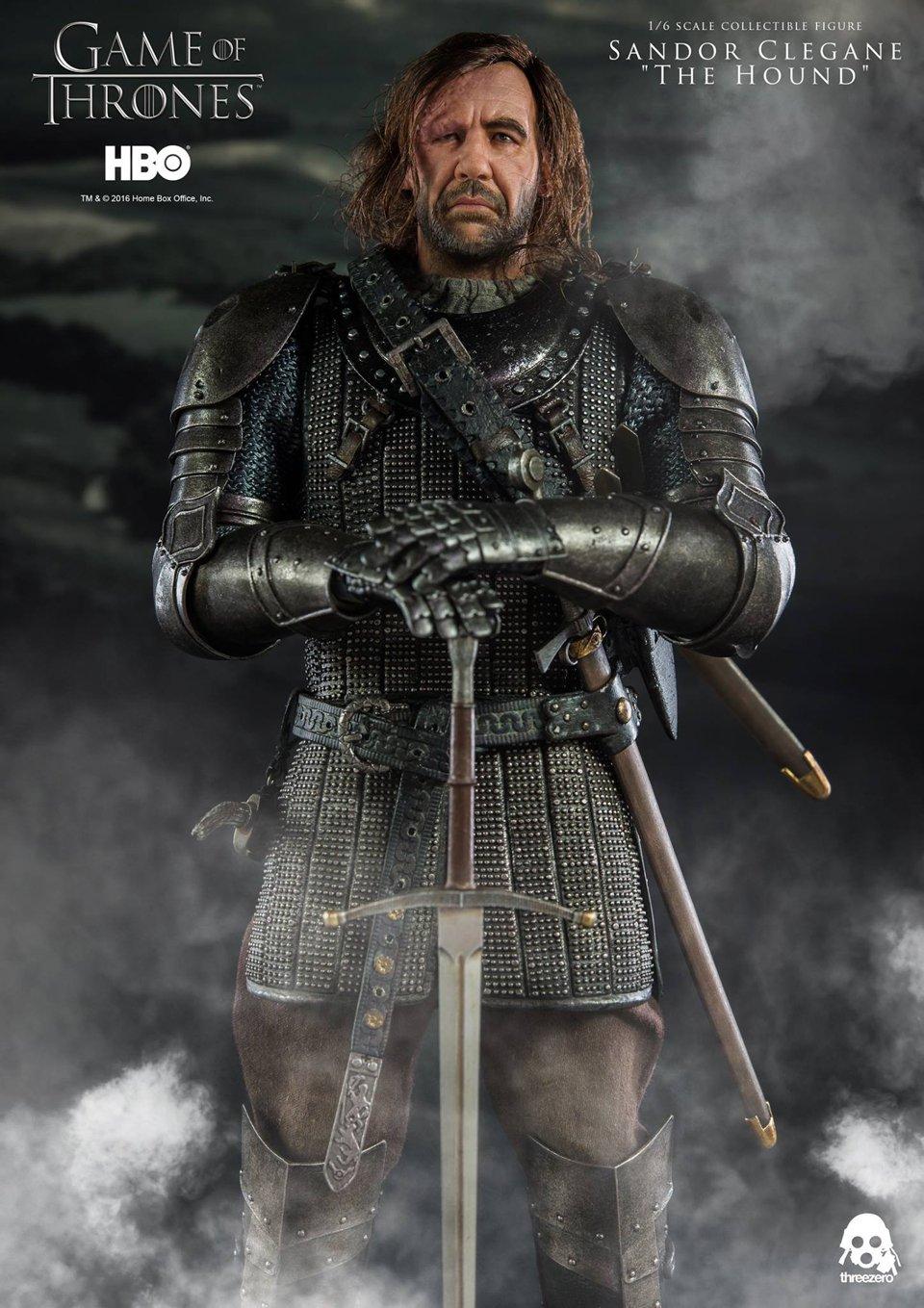 Threezero Game of Thrones Sandor Clegane 1/6 Scale Action ...