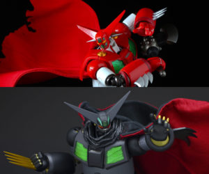 Sentinel x T-REX Getter-1 & Black Getter Action Figures