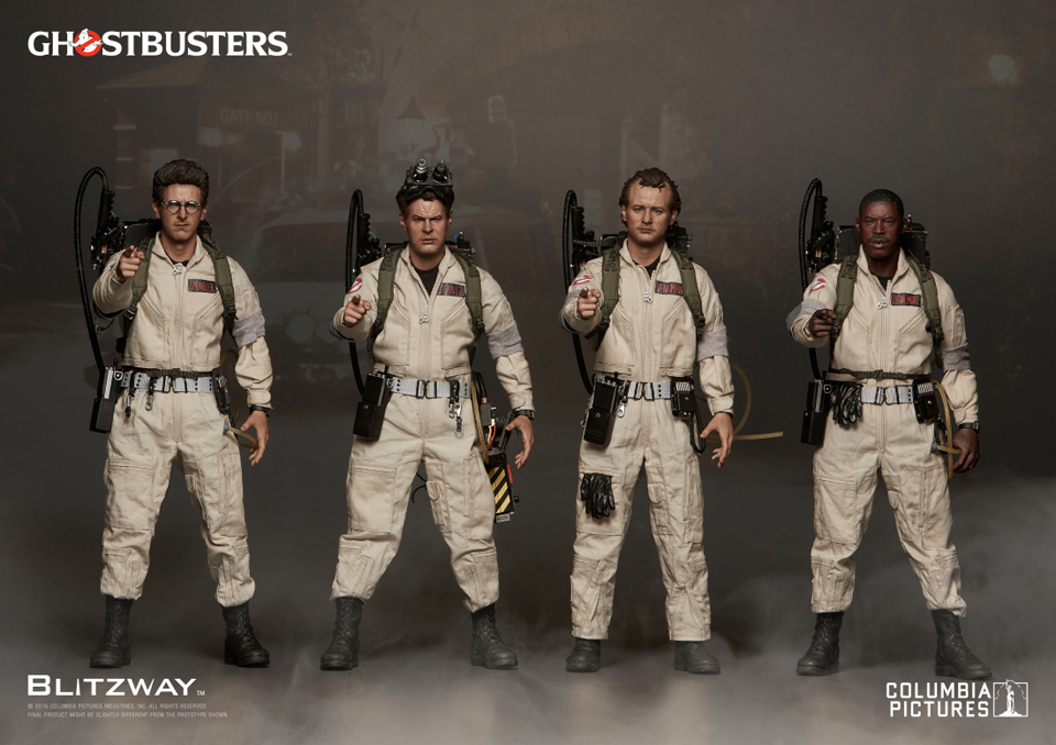 Blitzway Ghostbusters (1984) 1/6 Scale Action Figures
