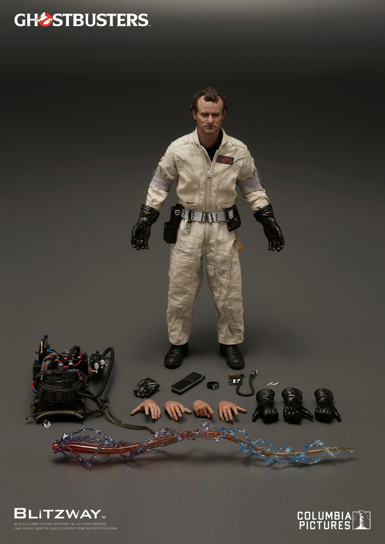 Blitzway Ghostbusters 1984 1 6 Scale Action Figures