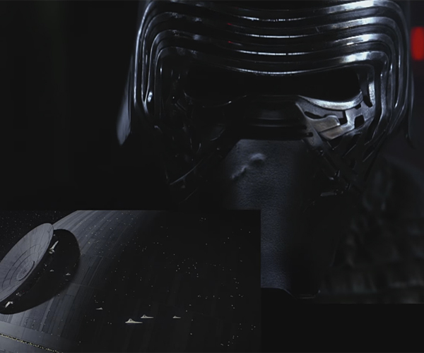 Kylo Ren Reacts to Rogue One Trailer
