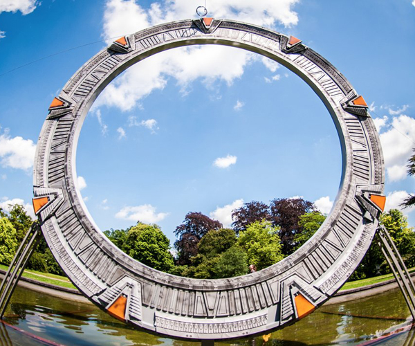 Life-size Stargate Model Appears in Belgium