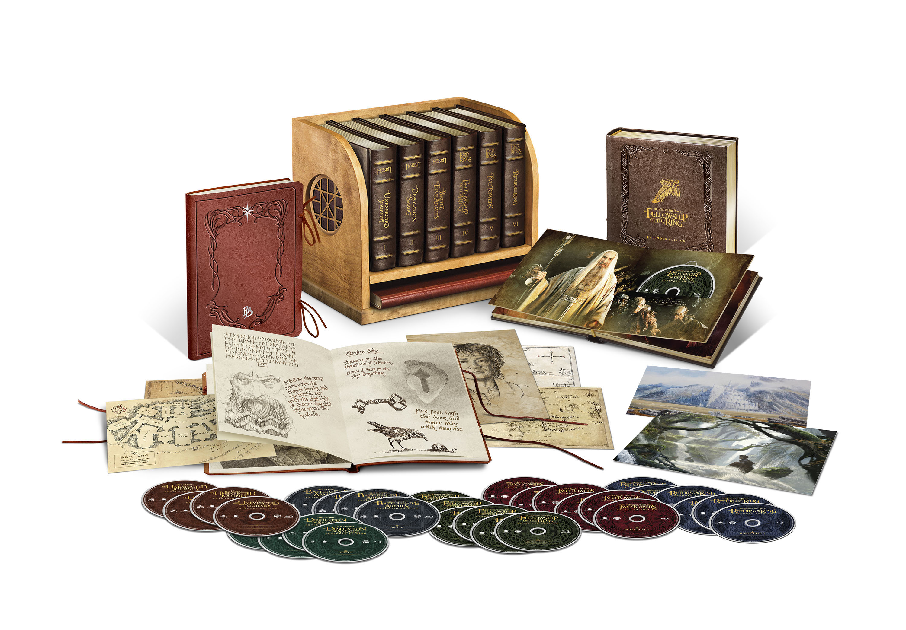 The Middle-Earth 6-Film Limited Collector's Edition
