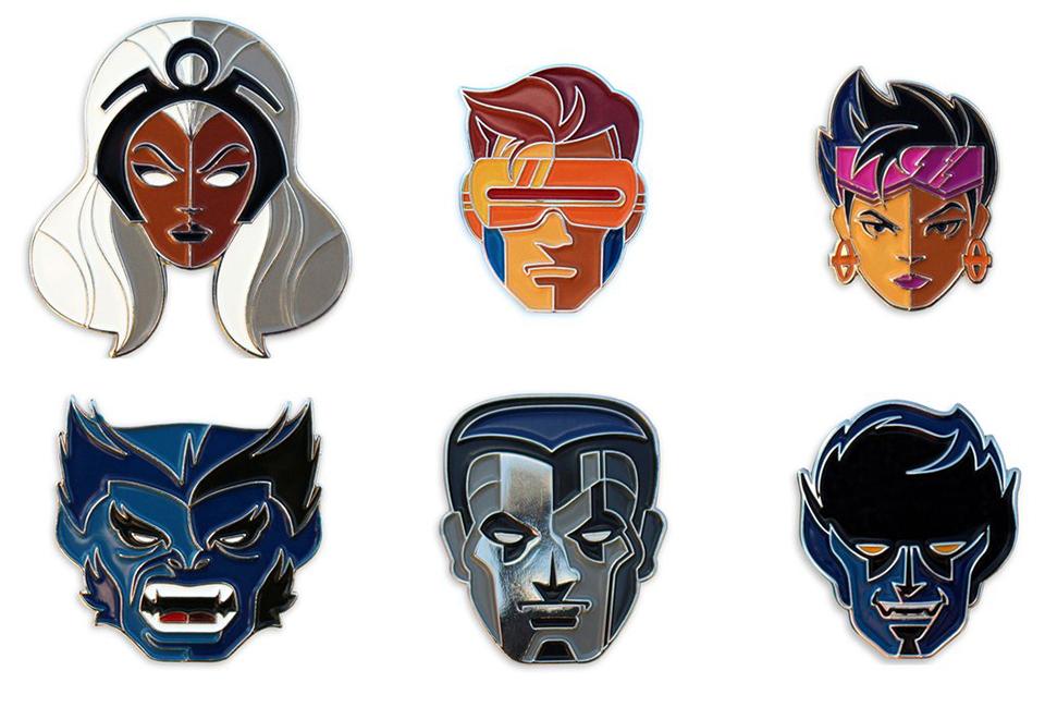 Mondo X-Men Enamel Pins