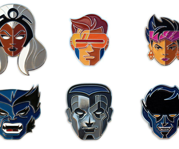 Mondo X-Men Enamel Pins