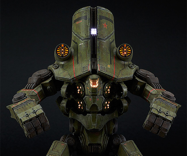 Plamax Pacific Rim Cherno Alpha Action Figure