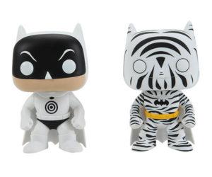 Funko DC Comics Pop! Heroes Zebra and Bullseye Batman Vinyl Figure Set