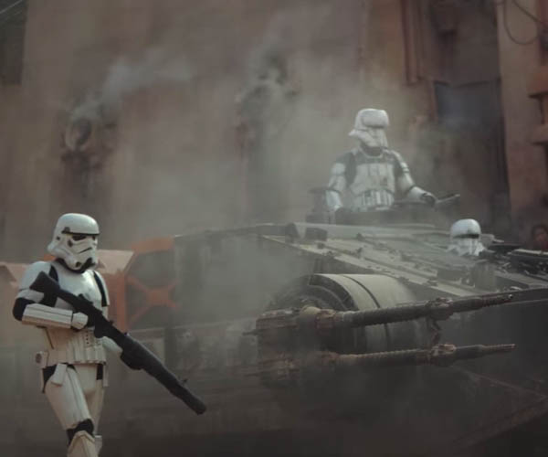 Rogue One: A Star Wars Story Trailer Breaks Cover
