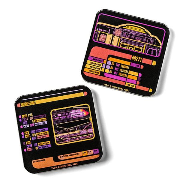 Star Trek LCARS Coasters