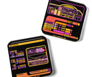 Star Trek LCARS Coasters