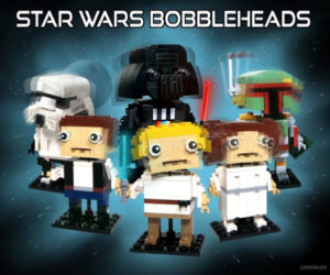 LEGO Star Wars Bobbleheads are Kind of Cute, Kind of Creepy
