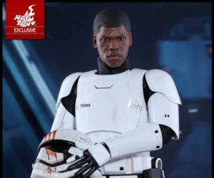 Hot Toys Star Wars Stormtrooper Finn 1/6 Scale Action Figure
