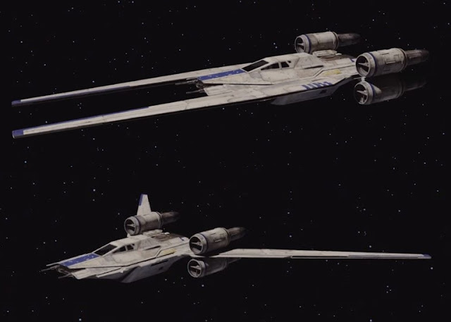 New Rogue One: A Star Wars Story Ship Revealed