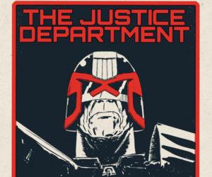 Vice Press Judge Dredd Prints for Nice Comic Con 2016