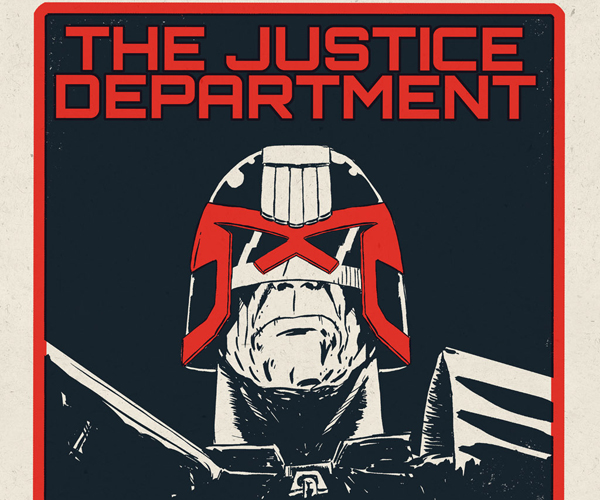 Vice Press Judge Dredd Prints for Nice Comic Con 2016