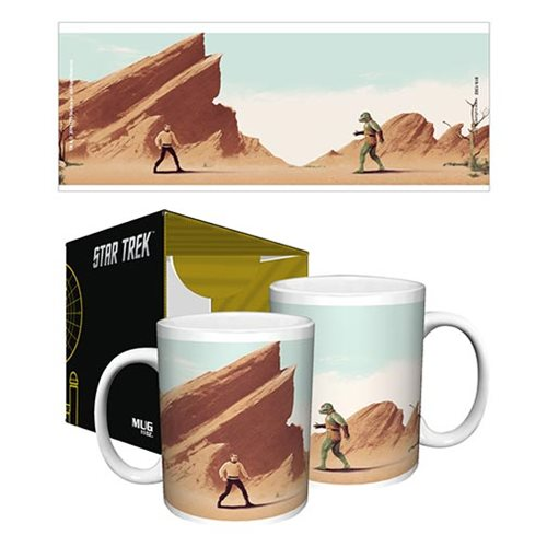 The Best Part of Waking up Is a Gorn Fight on Your Cup