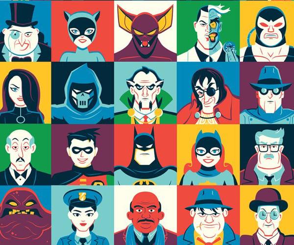 Mondo Batman Day Posters