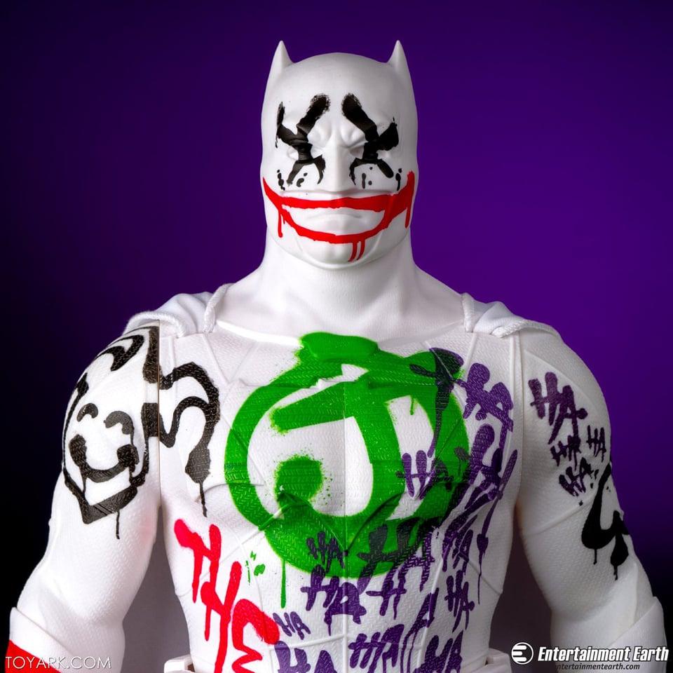 & Jakks Pacific BvS The Jokeru0027s Wild Batman Action Figure - MightyMega