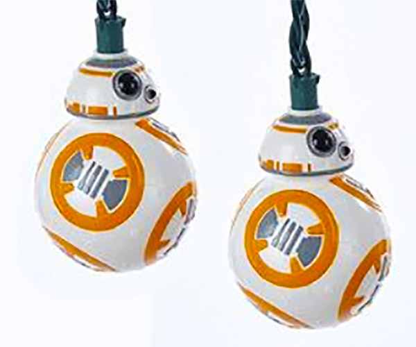 Star Wars: The Force Awakens BB-8 String Light Set