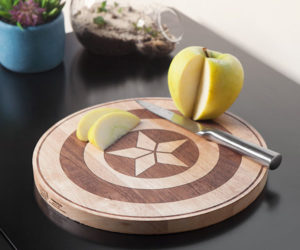 Marvel Civil War Cutting Board
