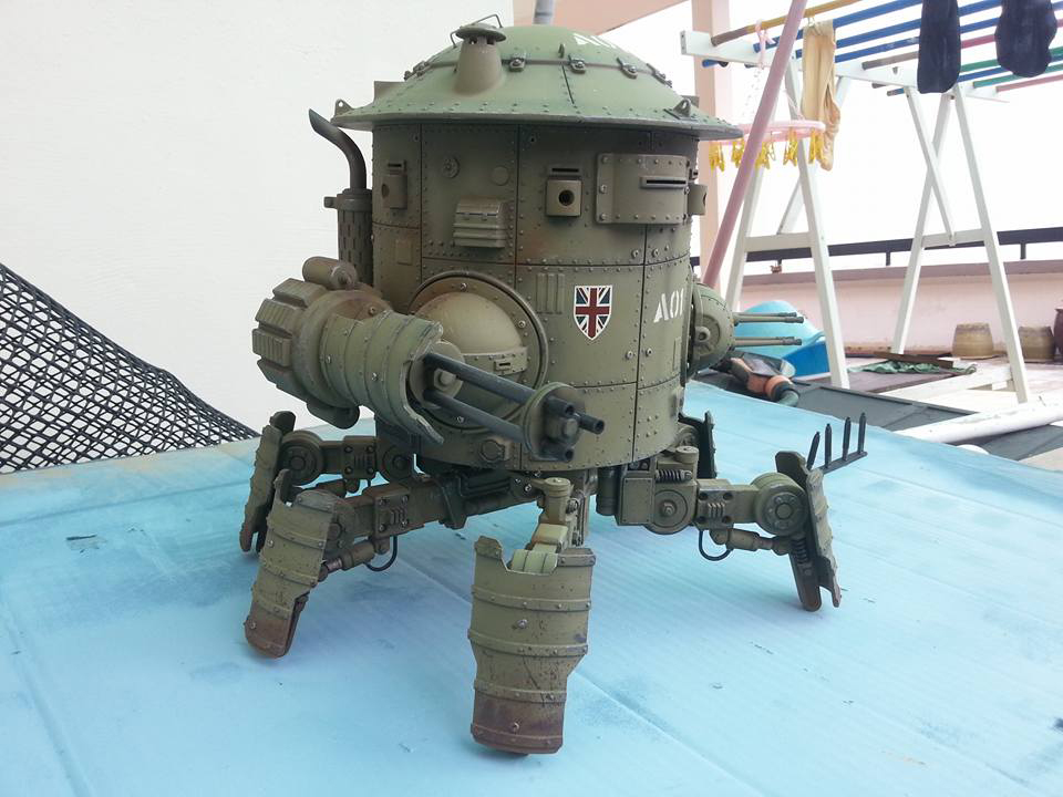 Machination Studio Codename: Colossus Mk. I Cyclops Sneak Peek
