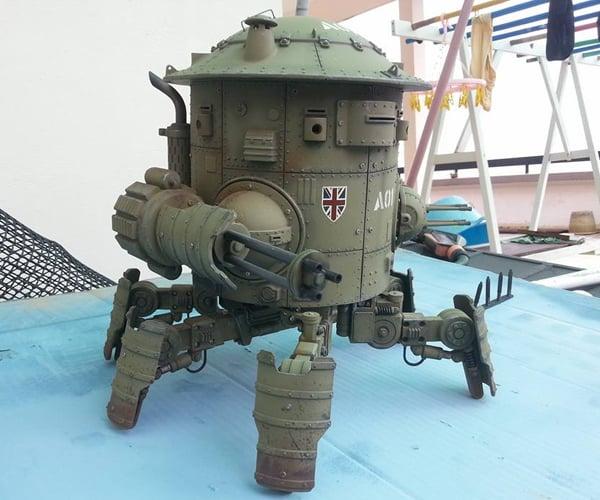 Machination Studio Codename: Colossus Mk. I Cyclops Sneak Peek