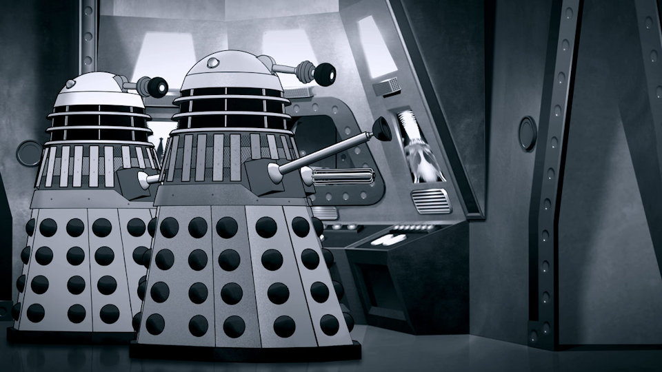 The Power of the Daleks Gets (Re)Animated