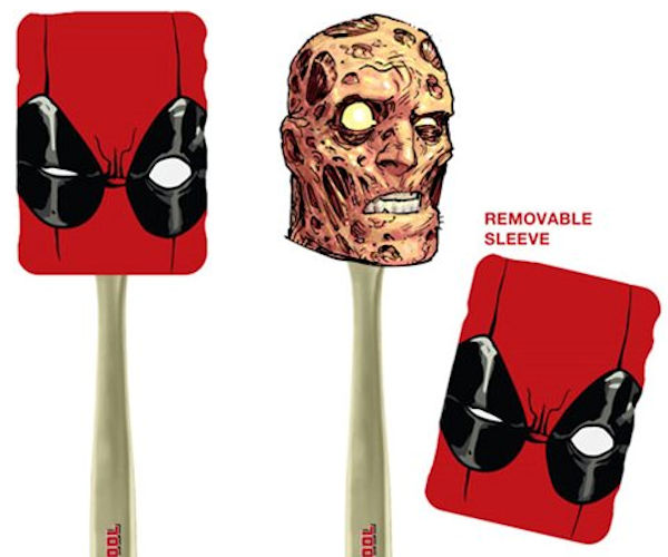 Deadpool Spatula Makes Eggs Over Ugly