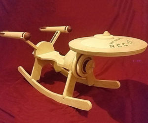 Star Trek Starship Enterprise Rocker