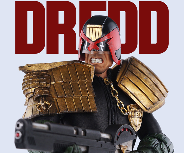 3A Toys Judge Dredd 1/6 Scale Action Figure