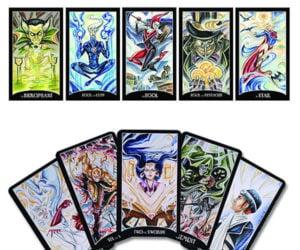 Justice League Tarot Card Deck