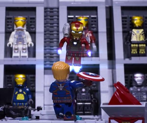 LEGO Civil War Fan-made Short Film